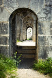 Stone archway Stock Photography