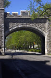 Stone archway Royalty Free Stock Photography