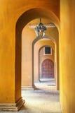 Stone archway Stock Photo