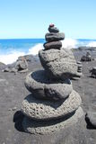 Stone Art on Big Island Royalty Free Stock Image