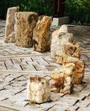 Stone Art in Ecuador Stock Images