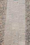 Stone as a sidewalk Royalty Free Stock Image