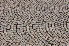 Stone as a sidewalk Stock Photos