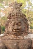 Stone Asura demon Royalty Free Stock Images