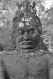 Stone Asura demon Royalty Free Stock Photos