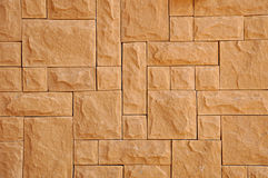 Stone background. Light brown rectangular stone background Stock Images