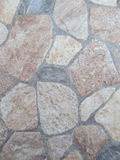 Stone background. Different colored stone tiles on our terrace stock photos