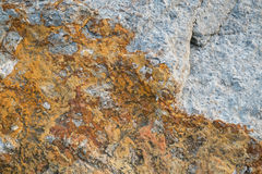 Stone Background-Grey and Yellow. Two colored (Grey and Yellow) stone background Royalty Free Stock Photos