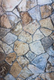 Stone background. Multi-colored stones combined binder concrete, creating interesting background, texture Stock Photo