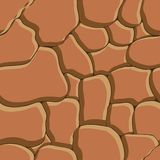 Stone background. Seamless texture. Royalty Free Stock Images