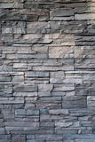 Stone Background texture. Black wall stone background texture Royalty Free Stock Image