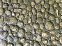 Stone background. Stone wall, stone floor Stock Photos