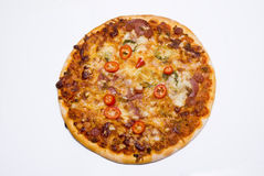 Stone baked pizza Royalty Free Stock Photography