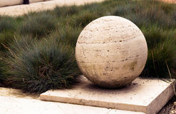 Stone ball Stock Photo