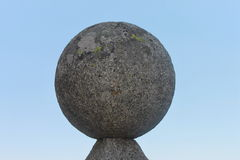 Stone ball Stock Photo
