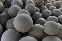 Stone balls Royalty Free Stock Photography