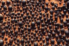 Stone balls in Utah Stock Photo
