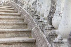 Stone Balusters and Steps Royalty Free Stock Image