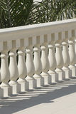 Stone balustrade Stock Photos