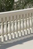 Stone balustrade Stock Photos