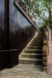 Stone balustrade and wall,Chengdu,China Royalty Free Stock Image