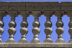 Stone banister Stock Image