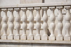 Stone banister Stock Photography