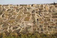 Stone bank Stock Photography