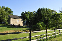 Stone barn royalty free stock images