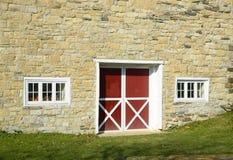 Stone barn stock photos