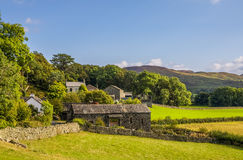 Stone barn in Cumbria Royalty Free Stock Image
