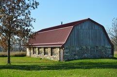 Stone Barn royalty free stock photos