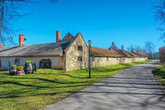 Stone barn Royalty Free Stock Photo