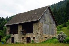 Stone barn Royalty Free Stock Photo