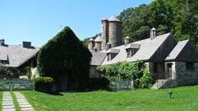 Stone Barns. Formerly the Rockefeller Estate, in Pocantico Hills New York stock photography