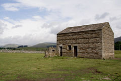 Stone Barns near Hawes, United Kingdom Royalty Free Stock Image