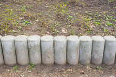 Stone barrier Stock Photography