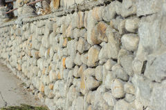 Stone barrier Royalty Free Stock Photography