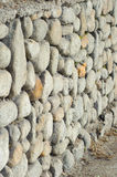 Stone barrier Royalty Free Stock Images