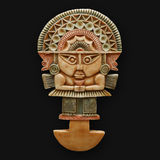 Tumi ceremonial axe inca national peruvian symbol Royalty Free Stock Photos