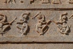 Stone bas-reliefs Stock Photo