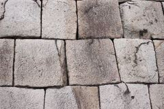 Stone base of the old Imperial Palace at location chiyoda japan. Royalty Free Stock Image