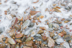 Stone beach Royalty Free Stock Photography