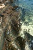 Stone beach. Royalty Free Stock Photography