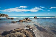 Stone at the beach Royalty Free Stock Photos