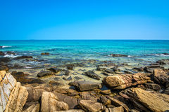 Stone beach Royalty Free Stock Images