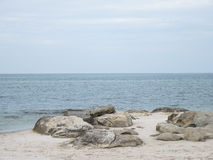 Stone on the beach 2 Royalty Free Stock Photo