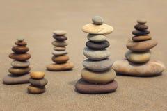 Stone on the beach Royalty Free Stock Photo