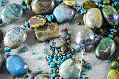 Stone Beads Royalty Free Stock Image