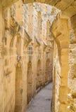 The stone beauty of El Jem Stock Photo